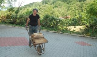 sistemazione legna